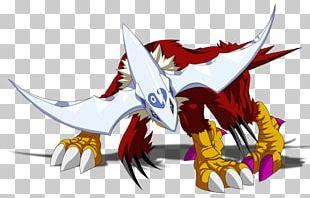 Hawkmon Gatomon Digimon Masters Halsemon PNG