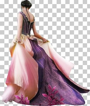 Dress Costume Party Woman Evening Gown PNG