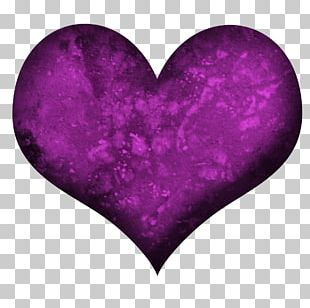 Heart Purple Magenta Violet PNG