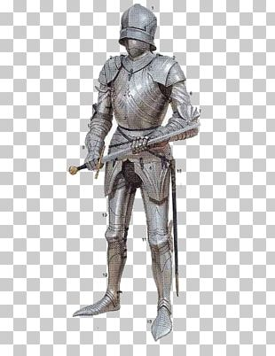 15th Century Middle Ages Knight Plate Armour PNG