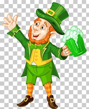 Saint Patricks Day Leprechaun March 17 Illustration PNG