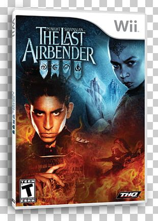Wii Avatar: The Last Airbender Video Game THQ PNG