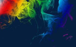 Seven Color Misty Smoke PNG