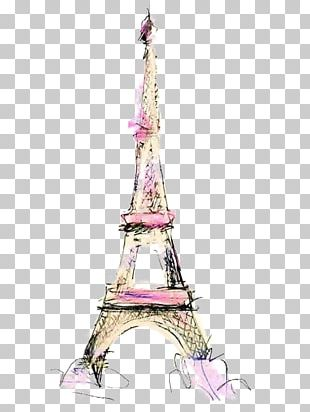 Eiffel Tower Drawing Illustration PNG
