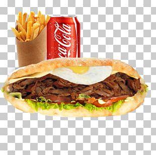 Hamburger Cordon Bleu French Fries Fast Food Cheeseburger PNG