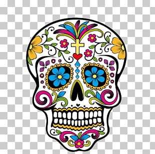Calavera Day Of The Dead Skull PNG