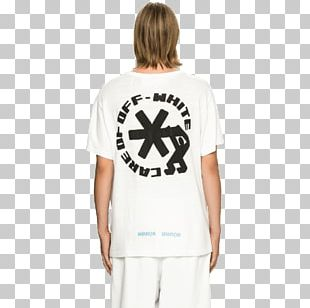 T-shirt Sleeve Off-White PNG