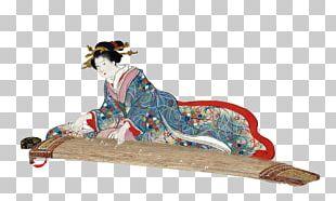 Japanese Art Ukiyo-e Koto PNG