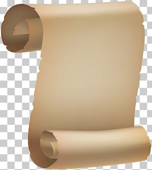 Paper Scroll PNG