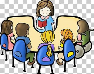 Student Reading Book Discussion Club PNG
