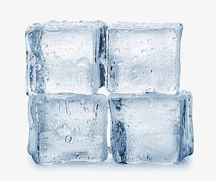 Light Blue Ice Cubes PNG