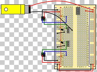 Microcontroller Breadboard Electronics Electrical Network Electronic Circuit PNG