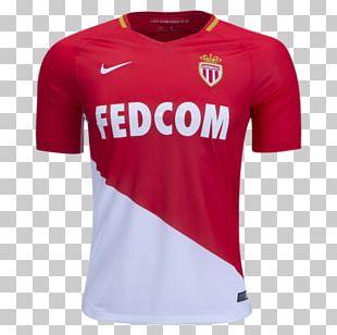 AS Monaco FC T-shirt Sports Fan Jersey Football PNG