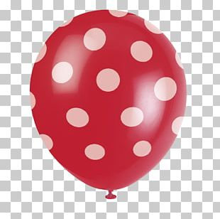Balloon Polka Dot Party Costume Birthday PNG