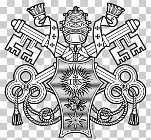 Vatican City Coat Of Arms Of Pope Francis Ecclesiastical Heraldry Papal Coats Of Arms PNG