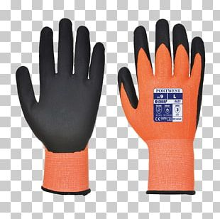 Cut-resistant Gloves High-visibility Clothing Portwest Personal Protective Equipment PNG