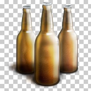 Glass Bottle Beer Bottle Tableware Drinkware PNG
