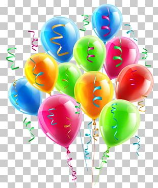 Balloon Birthday Party Inflatable Bouncers PNG