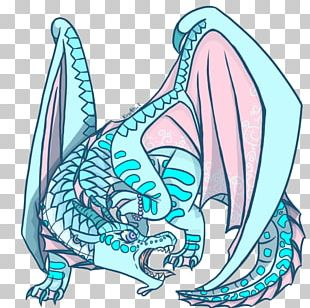 Wings Of Fire Tsunami Dragon Illustration PNG