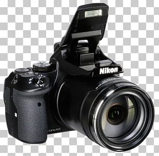 Digital SLR Nikon Coolpix P900 Camera Lens PNG