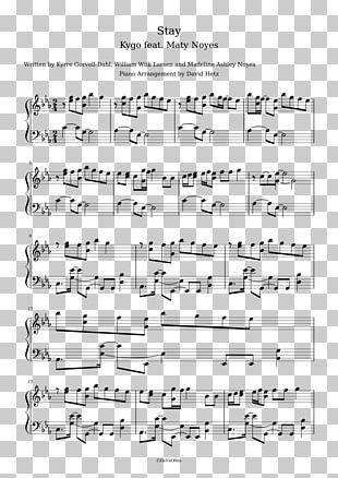 Sheet Music Axel F Chord Musical Note Piano PNG