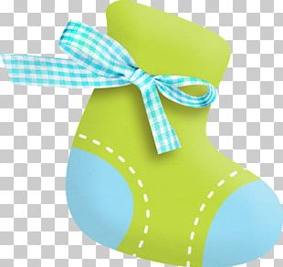 Infant Sock Baby Shower PNG