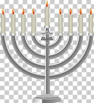 Menorah Jewish Holiday Candle PNG