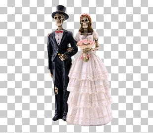 Skeleton Bride And Groom PNG