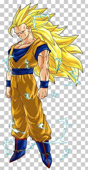 Goku Gohan Vegeta Majin Buu Dragon Ball Heroes PNG