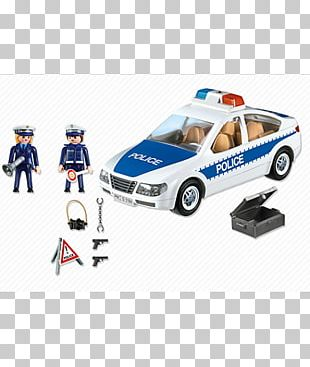 Playmobil Police Car Toy Police Officer PNG