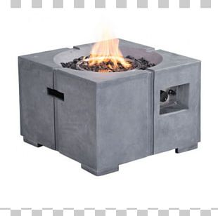 Fire Pit Propane Fireplace Garden Furniture Table PNG