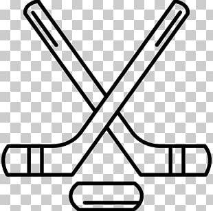 Hockey Sticks Ice Hockey Stick Hockey Puck PNG