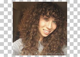 Long Hair Bangs Hair Coloring Jheri Curl PNG