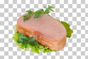 Turkey Ham Smoked Salmon Bayonne Ham Prosciutto PNG