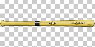 Baseball Bat Yellow PNG