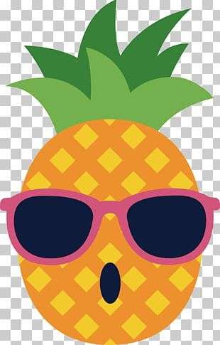 Pineapple Spectacles Glasses PNG