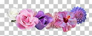 Flower Crown Wreath Sticker Garland PNG