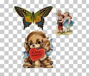 Puppy Valentine's Day Heart PNG