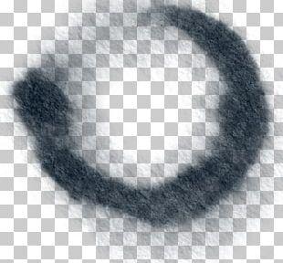 Black Circle Ink PNG