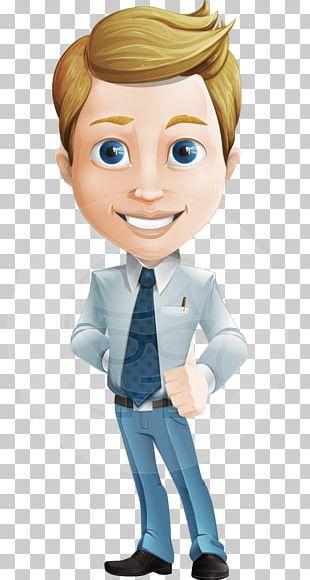 Cartoon Character Male Model Sheet PNG
