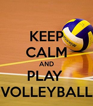 Volleyball Keep Calm And Carry On Play Game PNG