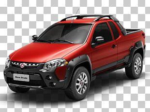 Fiat Strada Fiat Automobiles Pickup Truck Car PNG