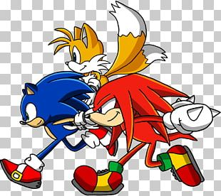 Sonic & Knuckles Sonic Heroes Sonic Chaos Sonic The Hedgehog Knuckles The Echidna PNG