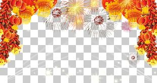 Chinese New Year Lantern Fireworks PNG