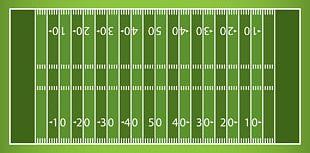 American Football Field PNG