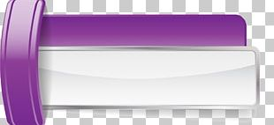 Purple Web Banner PNG