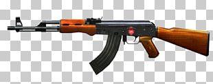 AK-47 Firearm Weapon Rifle PNG