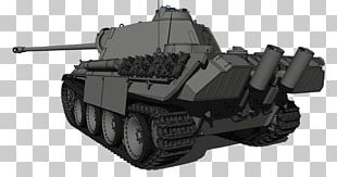 Panther Tank Vehicle Maybach HL230 PNG