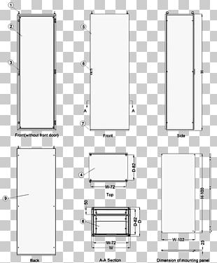 Technical Drawing Product Design Diagram Furniture Line PNG