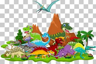 Tyrannosaurus Dinosaur Cartoon Triceratops PNG